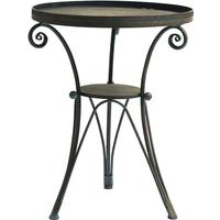 Metal Patio Table With Rim