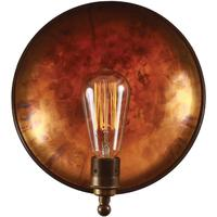 Cullen industrial dish wall light by Mullan Lighting