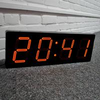 NeXtime Big D Clock - Black