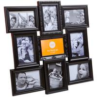 Black Magic 9 Multiple Photo Frame