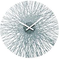 Koziol Silk Wall Clock - Anthracite