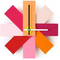 Watch Me Wall Clock - Pink by Red Candy