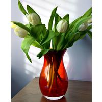 Posy Bud Vase Red