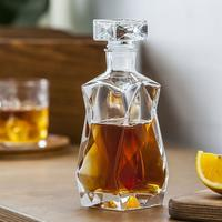 Curvy Glass Decanter 750ml