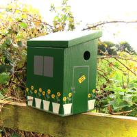 Handmade Garden Shed Bird Box by Lindleywood