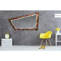Rhombus multicolour PIAGGI glass mosaic mirror