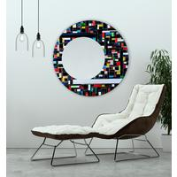 Eclipse PIAGGI glass mosaic mirror by Piaggi