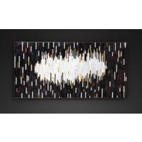 Mirage PIAGGI decorative glass mosaic art panel by Piaggi