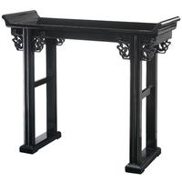 Altar Table, Black Lacquer by Shimu