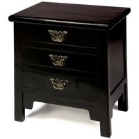 Butterfly Drawers, Black Lacquer