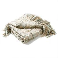Kelso Throw - Natural Silver