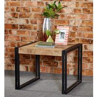 Upcycled Industrial Mintis Coffee Table wood and Metal  by Verty furniture