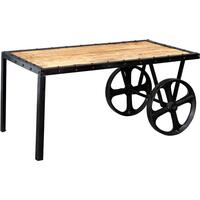 Cosmo Industrial Cart Coffee Table  by Indian Hub