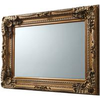Carved Louis Mirror Gold  by Gallery Direct