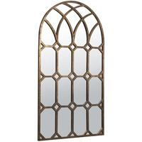 Arabella Bronze Arched Mirror
