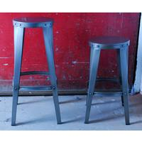 Industrial Vintage Toolshop Stool - Low