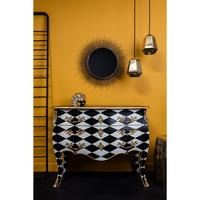 French Harlequin Design Chest by Out There Interiors