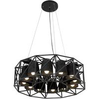 Circular Lamp Array by Out There Interiors