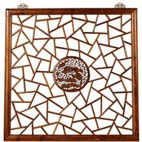 Carved Panel, Warm Elm by Shimu