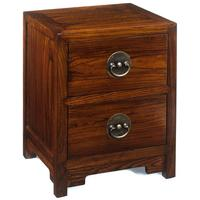 Ming Two Drawer Chest, Warm Elm by Shimu