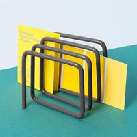 Block Letter Rack - Black