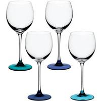 LSA Coro Wine Glasses - Lagoon