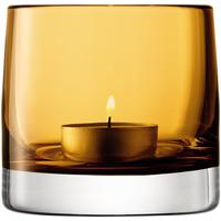 LSA Light Colour Tealight Holder - Amber by Red Candy