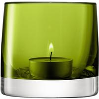 LSA Light Colour Tealight Holder - Olive