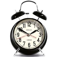 Newgate London Alarm Clock - Black by Red Candy
