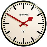 Newgate Putney Wall Clock - Black by Red Candy