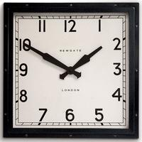 Newgate Quad Clock - Black by Red Candy
