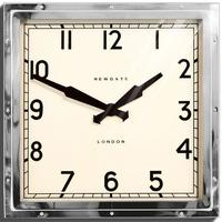 Newgate Quad Clock (Chrome)