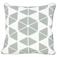 Trio Cushion 45 x 45cm, Grey