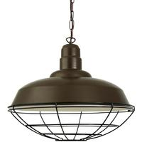 Cobal Large Industrial Cage Pendant Light 53cm by Mullan Lighting
