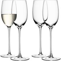 2 x Tall Stemmed Wine Glasses 340ml