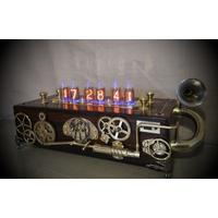 Bad Dog Designs 'Pandora' Steampunk Nixie Clock