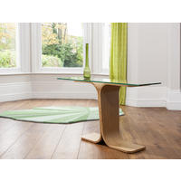 Drift Console Table Glass Top