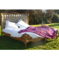 Gold French Bed