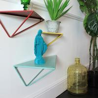 Set of 3 Retro Shelves by Out There Interiors