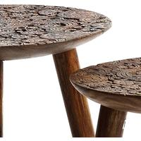 Carved Wooden Stools