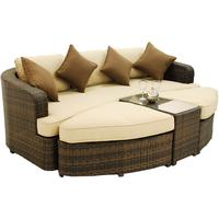 Laila Rattan Daybed