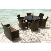 Ohanna Ocean Wave Outdoor Table