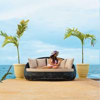 Ollie Ocean Outdoor Daybed Without Roof