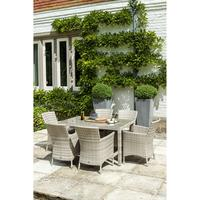 Opaline Ocean Wave Outdoor Armchair With Cushion