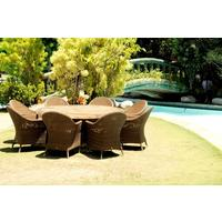 Selma San Marino Outdoor Teak Top Table