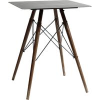 Metal Topped Side Table