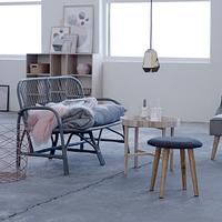 Stool in Grey - Small by Out There Interiors