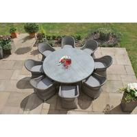 Combi-Weave Outdoor Round Dining Set
