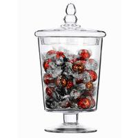 Glass Sweet Jar Soho 30cm by Solavia