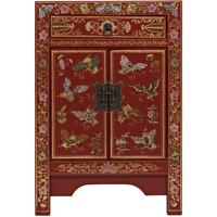 Small Classic Chinese Cabinet - Red
